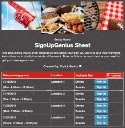 Football Tailgate 2 sign up sheet