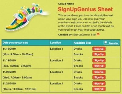 5k marathon running race marathon green shoes sign up form
