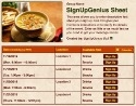 Chicken Soup sign up sheet