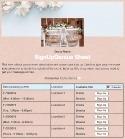 Wedding Invitation sign up sheet