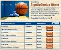Basketball III sign up sheet
