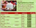 Christmas Cocoa sign up sheet