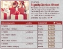 Christmas Gifts 3 sign up sheet