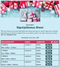 Angel Tree Gifts 2 sign up sheet