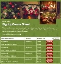 Christmas Tree 2 sign up sheet