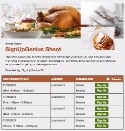 Thanksgiving Dining sign up sheet