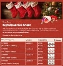 Christmas Stockings sign up sheet